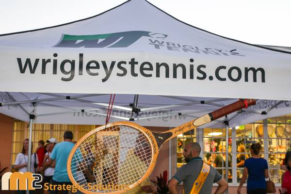 Wrigley's Tennis Grand Re-Opening was a great success!