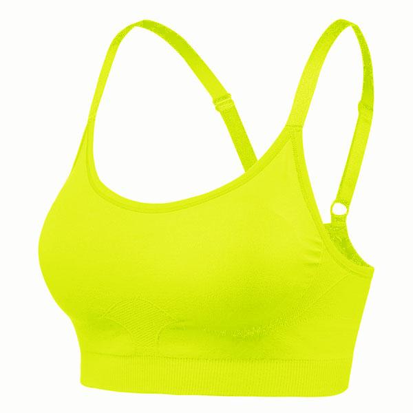 d29229e1cc17c Recover Sports Bra Neon Yellow